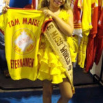 Mini miss mundo vai desfilar no carnaval de SP