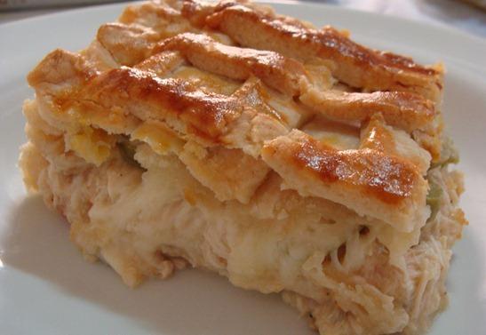 receita de torta de frango franciscana