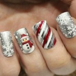 unhas decoradas para natal 22