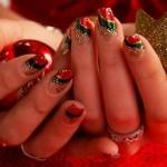 unhas decoradas para natal 28