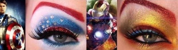 maquiagem super heroi 1