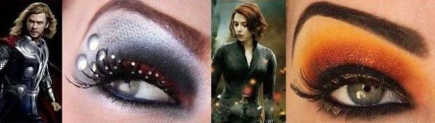 maquiagem super heroi 2