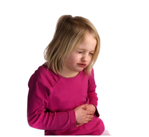 menina com dor
